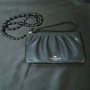 Black label Juicy Couture wristlet and free gift
